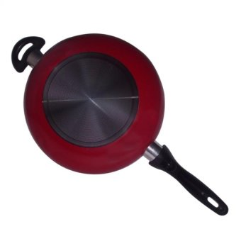 26cm Non-Toxic Ceramic Coating Deep Frying Pan set of 2 - 3