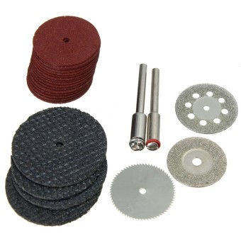 26pcs/Lot A550 Grinder Cover Case Cutting Disc Rod Blade for Dremel Rotary Tool - intl - 5