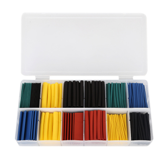 280PCS color boxed heat-shrinkable tubing ?1.0 - ?10.0 (Intl)