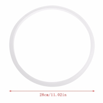 28cm Pressure Cookers Silicone Rubber Gasket Sealing Seal RingKitchen Cooking Tool - intl