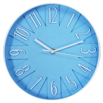2A Wall Clock 2A9884 (Blue)