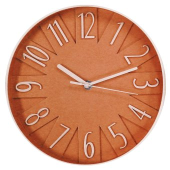 2A Wall Clock 2A9884 (Orange)