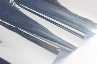 2M Silver Solar Reflective Window Film Paper Insulation Stickers One Way Mirror - 5