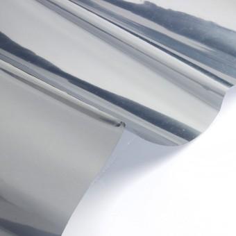 2M Silver Solar Reflective Window Film Paper Insulation Stickers One Way Mirror - 4