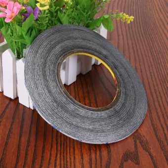 2mm Scotch 3M Double Sided Tape Sticky black for Mobile Phone LCD -intl - 3