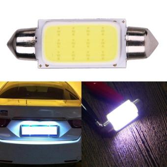 2pcs 41mm COB SMD LED 12V Car Reading Bulb Map Light (white light)- intl - 3