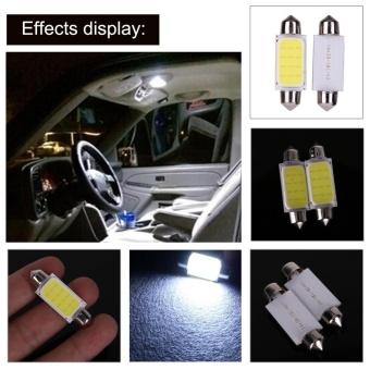 2pcs 41mm COB SMD LED 12V Car Reading Bulb Map Light (white light)- intl - 5