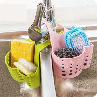2Pcs Kitchen Sink Shelf Rack Faucet Basket Storage Rack KitchenStorage Sponge Holder Bathroom Accessories Organizadores - 2