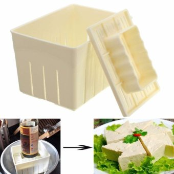 2Pcs Tofu Maker Press Mold Kit + Cheese Cloth Diy Soy PressingmouldKitchen Tool Set - intl Price Philippines