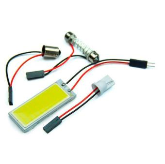 2pcs Xenon HID White 36 COB LED Dome Map Light Bulb Car Interior Panel Lamp 12V - intl - 5