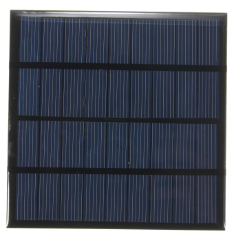 2W 9V Mini Solar Panel Module Solar System Epoxy Cell Charger DIY - intl