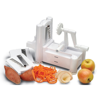3 in 1 Functional Vegetable Spiralizer Vegetable Spiral Slicer Peeler and Shredder