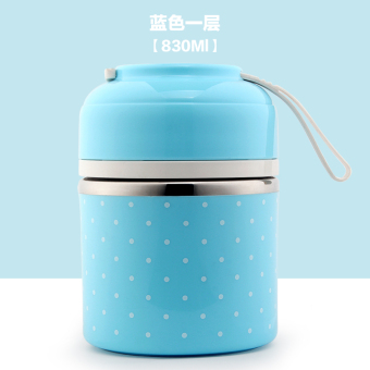3 three cute student double layer multi-layer lunch boxes stainless steel container