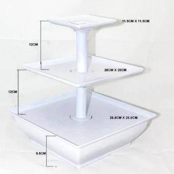 3-Tier Snack Server Stand - 3