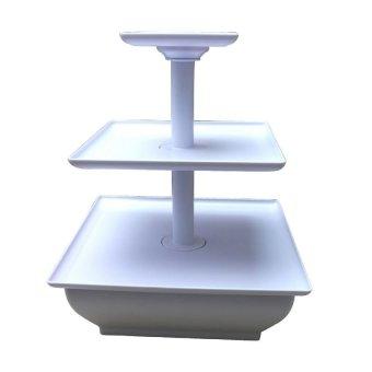 3-Tier Wilton Snack Server Square