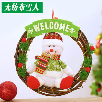 304050 cm Christmas door hanging garland