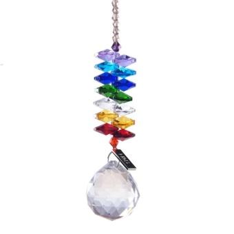 30mm Chandelier Crystals Ball Prisms Rainbow Octogon ChakraSuncatcher for Gift - intl - 2