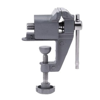 30mm Mini Table Vice Bench Clamp Screw Vise for DIY Craft ElectricDrill - intl