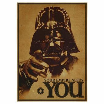 30x42cm Retro Art Wall Home Decoration Nostalgic Retro Kraft Bar Cafe Paintings Vintage Star Wars Poster