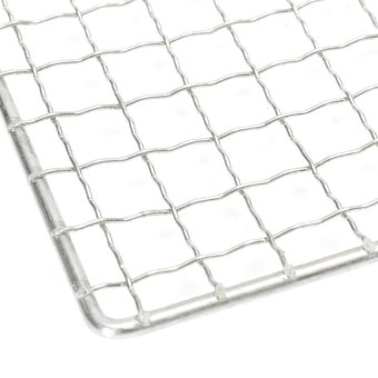 30X45cm Bbq Grill Cooker Stainless Steel Wire Mesh OutdoorPicniccamp Barbecue - intl - 4