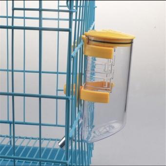 350ml Pet Dog Cat Large Automatic Waterer Drink Dispenser(Blue) - intl - 3