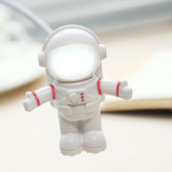 360DSC Creative Astronaut Shaped USB Powered Mini Night Light - Red