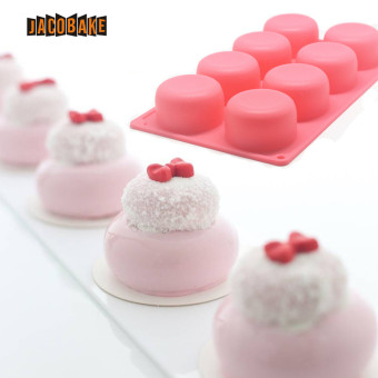 3D 6cm ball shape mousse cake mold