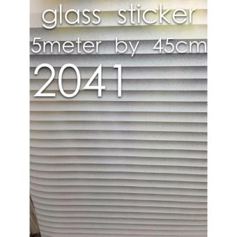 3D Blinds Window Glass Stickers (5m x 45cm)