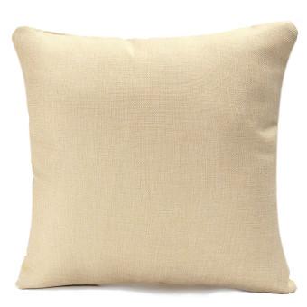 3D Flower Cotton Linen Pillow Case Waist Back Throw Cushion Cover Home Decor - 4