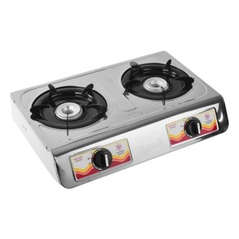 3D GS3000 2 Burner Gas Stove (Silver)