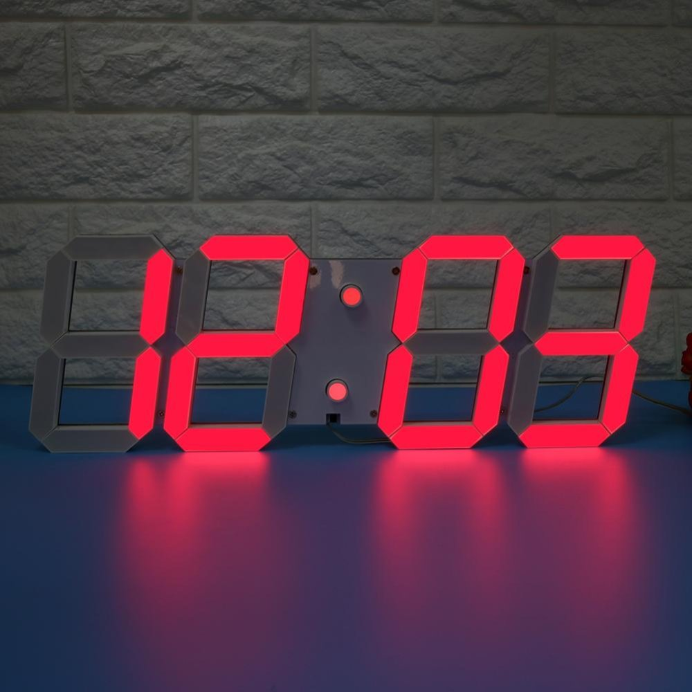 Philippines 3d Led Digital Wall Clock Timer Countdown Thermometer