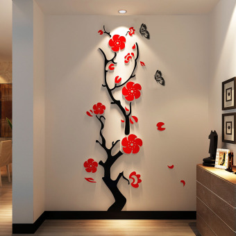 3D Meihua acrylic Dimensional Wall stickers