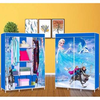 3D Pattern Non-Woven Folding Cloth Wardrobe Home Closet