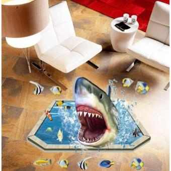 3D Removable Floor Sticker Floor Home Decor Decal Art -013