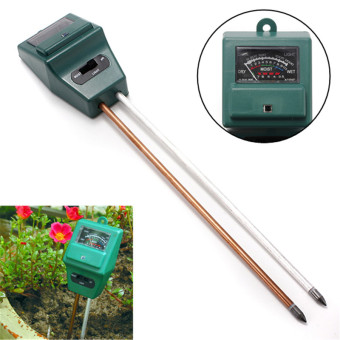 3in1 Garden Soil Moisture Tester Light Test PH Meter for Plant Flower Trees-Intl