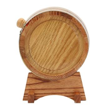 3L Vintage Wood Oak Timber Wine Barrel For Beer Whiskey Rum Port Keg Storage - intl - 4