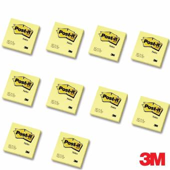 3M 3M Post-it(R) Notes 654 3x3 in Canary Yellow Bundle of 10 Price Philippines