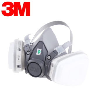 3m with anti-acid gas respirator mask