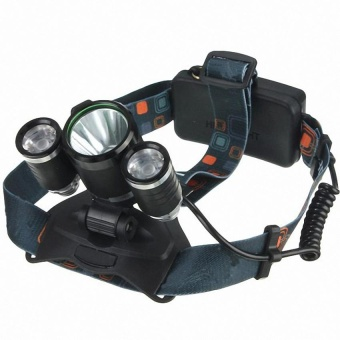 3x LED XM-L2 T6 Headlamp Headlight Head Light Torch Flashlight Lamp - intl