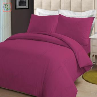 4 Pieces Sheet Set Beddings Microfiber Plain Full Size Bedsheet byModern Linens (Pink) Price Philippines