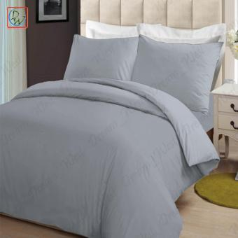 4 Pieces Sheet Set Beddings Microfiber Plain Queen Size Bedsheet byModern Linens (Gray) Price Philippines