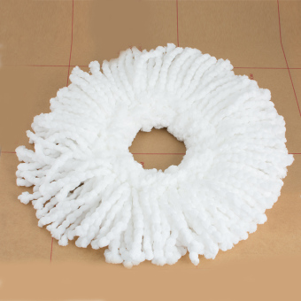 4 Replacement Microfiber Mop Head Refill for Hurricane 360? Spin