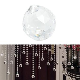 40 mm Clear Ball Lamp Prisms Part Wedding Decor Hanging Pendant - intl - 2