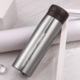 400ml Men Gift Stainless Steel Thermos Cup Insulated Thermo Mug forMan Vacuum Flasks Travel Drink Bottle Thermal coffee Tumbler Dad -intl