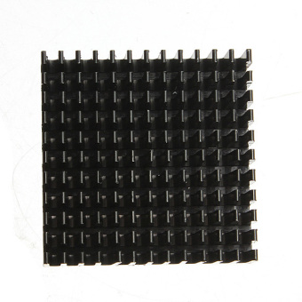 40x40x11mm Aluminum Heatsink Cooling for LED Power Memory Chip IC Transistor - 3