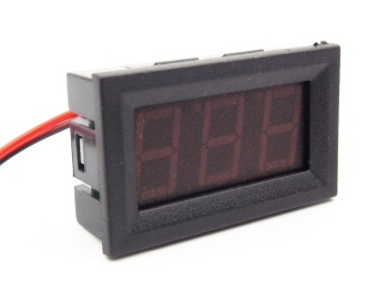 4.5-30V DC Car Motor Red LED Digital Voltmeter Gauge Volt VoltagePanel Meter - intl Price Philippines