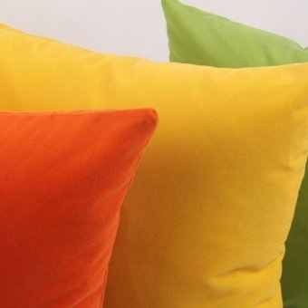 45cm x 45cm Cushion Cover Bed Sofa Throw Pillow Case color:Green -intl
