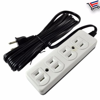 4.5m High Quality Heavy Duty 4 Sockets Extension Wire LL-88814