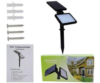 48 PCs LEDs Solar Light Lamp Light Control Night Wall Light SensorOutdoor Lighting Lamp for Lawn Garden Price Philippines