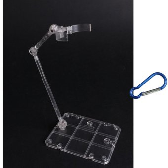 4PCS Action Base Suitable Clear Display Stand for 1/144 HG/RG Gundam/Figure Model Toy - intl - 2